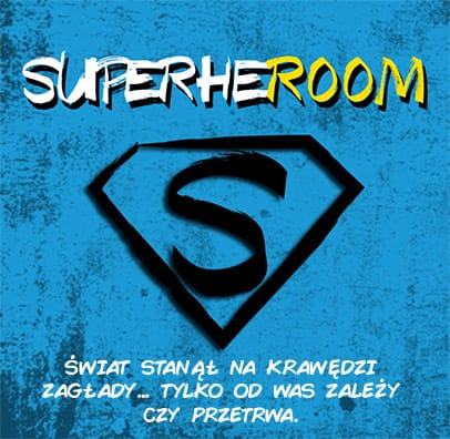Superheroom escape room dla superbohaterów