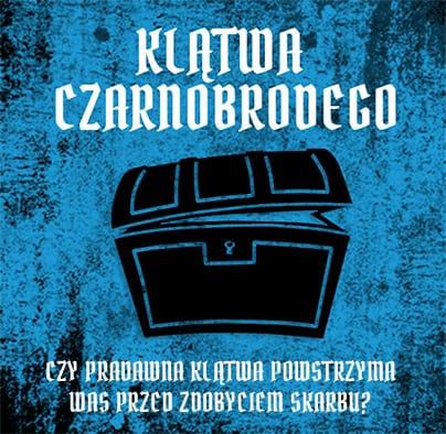 Klątwa Czarnobrodego - piracki escape room w Bydgoszczy